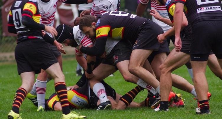 Neuchâtel Rugby rend une copie parfaite