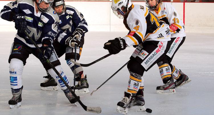 La Neuchâtel Hockey Academy s'incline face à Weinfelden