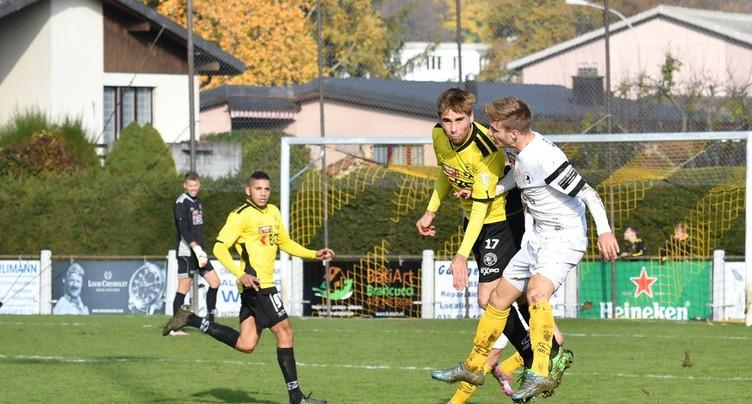 Match nul du FC Bassecourt à Bienne