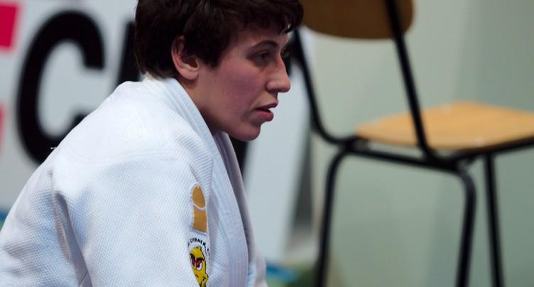Evelyne Tschopp proche d'une médaille