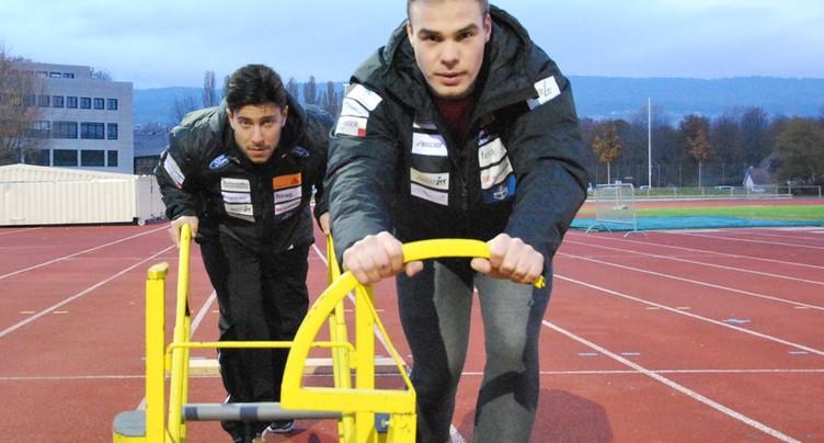 Yann Moulinier et Robin Santoli vice-champions de Suisse