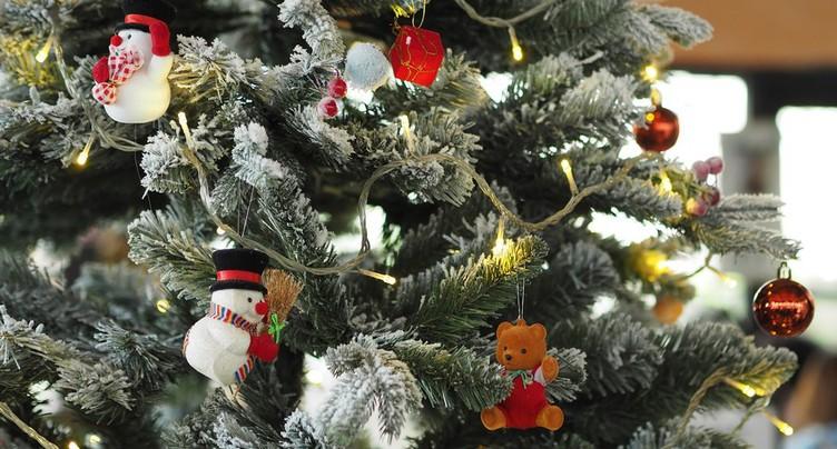 Delémont dans l'ambiance des fêtes de fin d'année
