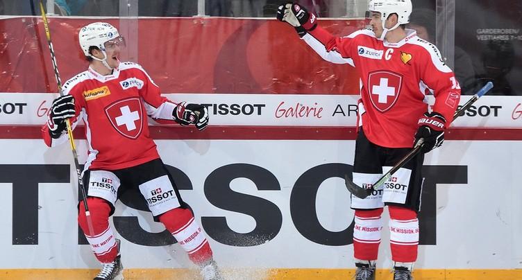 La Suisse sans Jonas Hiller ni Gaëtan Haas
