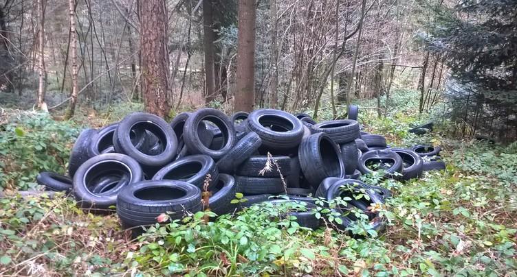 Stocker des pneus, c'est interdit