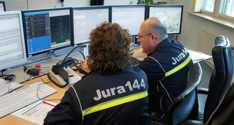 Les appels d'urgence jurassiens arrivent désormais à Fribourg