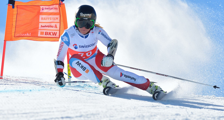Lara Gut dauphine de Vonn à Garmisch