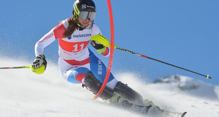 Bonne journée pour les skieuses suisses