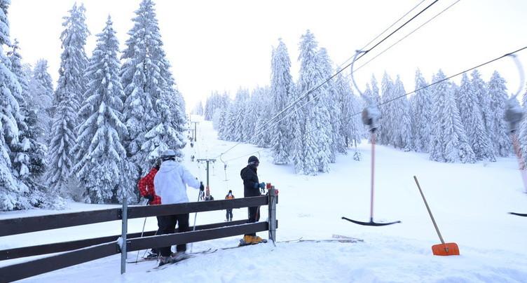 Les stations de ski jurassiennes ouvertes pour les Fêtes