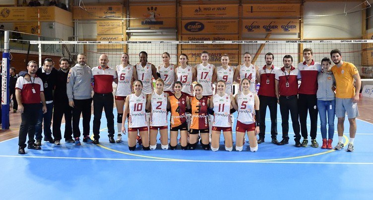 Volleyball Franches-Montagnes - Galatasaray - 12.01.17