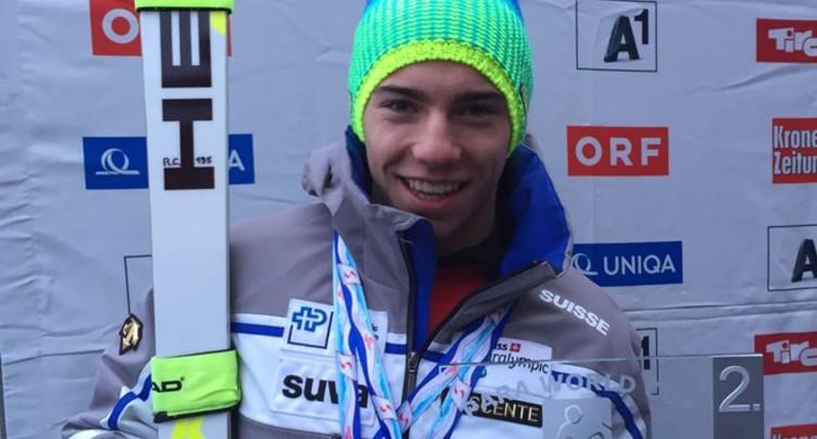 Robin Cuche élu sportif neuchâtelois de l'année