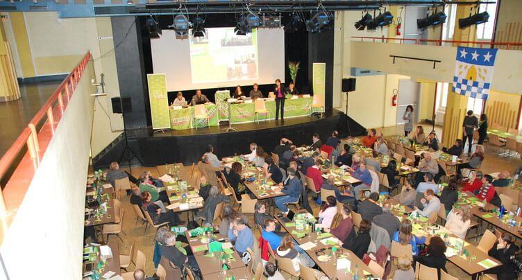 Les Verts réunis à La Chaux-de-Fonds