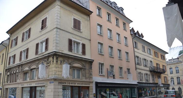 Un hôtel dans plusieurs bâtiments