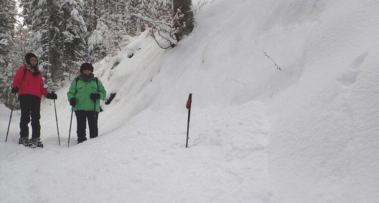 Un danger d'avalanche « marqué » rare pour la région