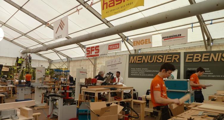 Les Championnats suisses des métiers à Berne en 2018