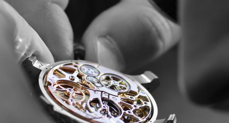 Horlogerie : effectifs en baisse