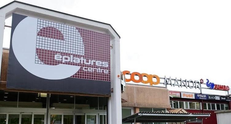 Cambriolage au Centre commercial des Eplatures à La Chaux-de-Fonds