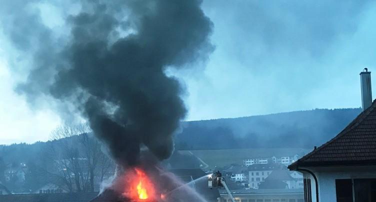 Incendie de Reconvilier : une négligence humaine
