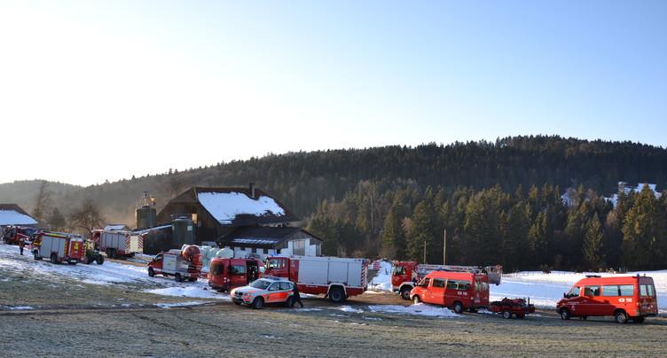 Incendie rapidement maîtrisé à La Tanne
