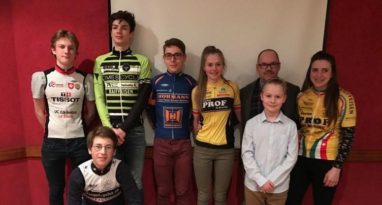 Cyclistes à l'honneur