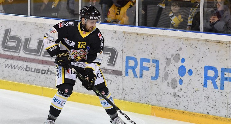 Thibault Frossard suspendu contre Martigny Red Ice