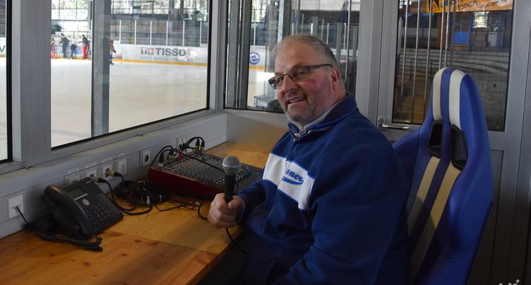 Claude Sterchi : « Plus la patinoire est pleine, plus ça me porte! »