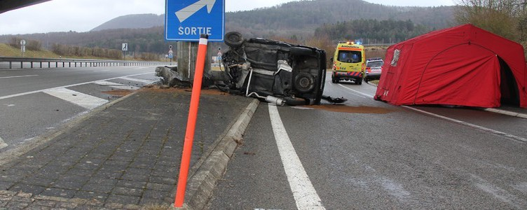 Accident mortel sur l'A16