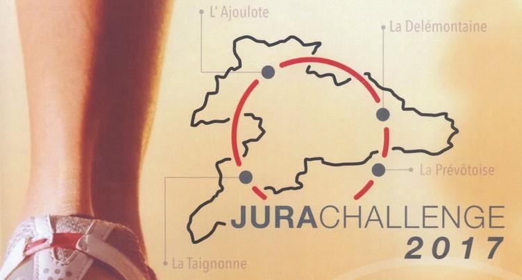 Courir pour le plaisir sur le JuraChallenge