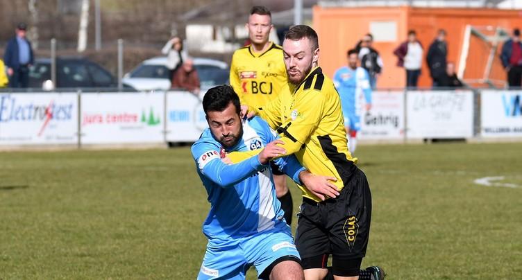 Le FC Bassecourt s'offre un bol d'air
