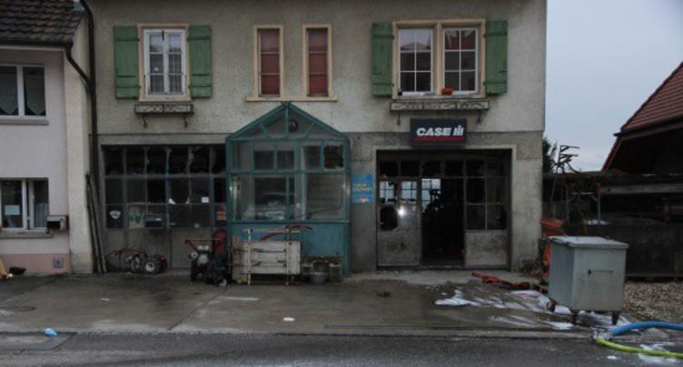 Deux blessés graves dans une explosion à Lugnorre