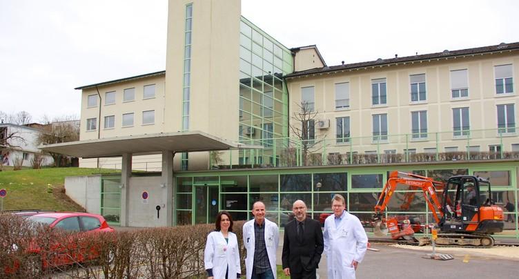 Un véritable Centre de compétence oncologique pour le Jura