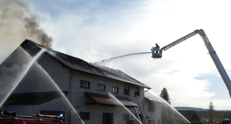 Incendie aux Breuleux : prévenu acquitté