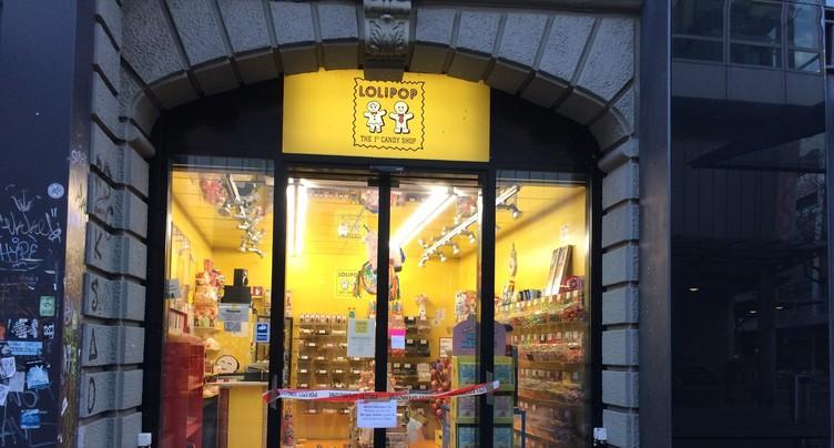 Vol de sucreries à Bienne