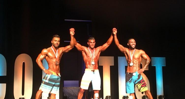 Deux Neuchâtelois sur le podium en bodybuilding