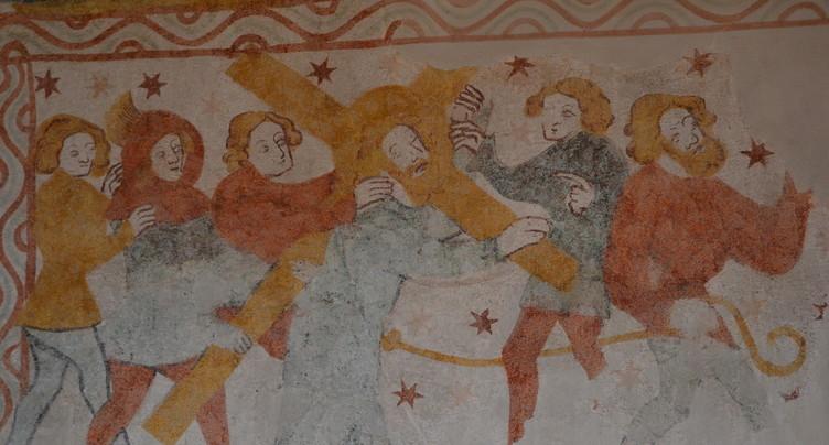 Des fresques du XVème siècle bientôt comme neuves