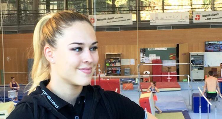 Le sourire de Giulia à Macolin