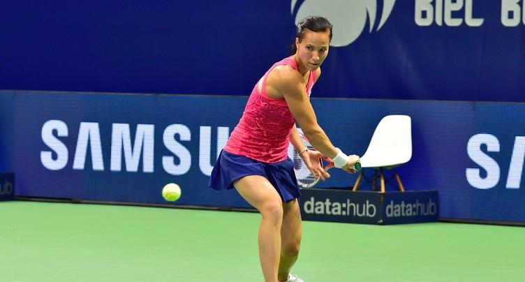 Viktorija Golubic passe à côté