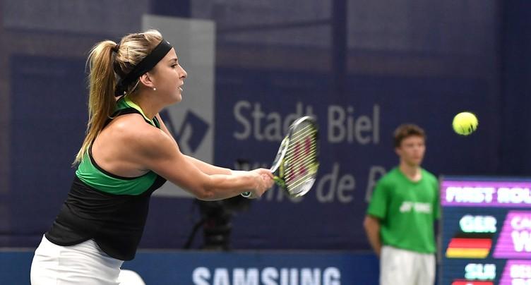 Belinda Bencic passe en 8e de finale