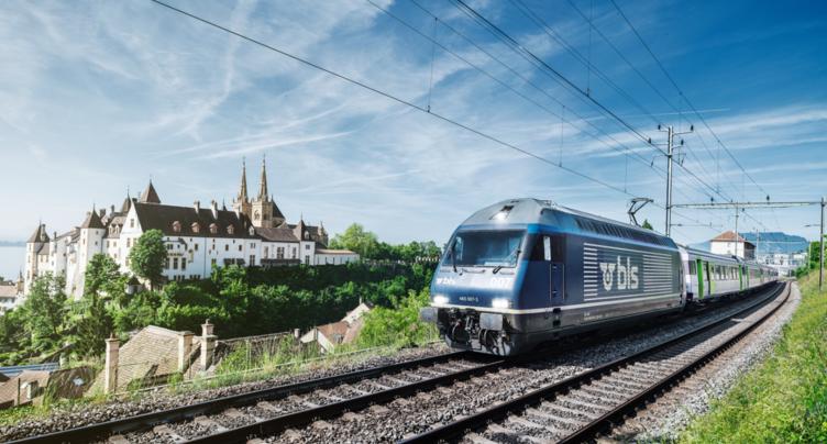 Nouvelles rames BLS pour le canton de Neuchâtel
