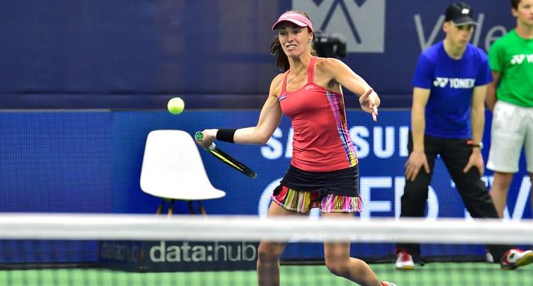 Hingis/Bacsinszky en finale du Ladies Open