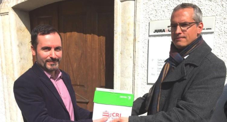 Initiative déposée contre la géothermie profonde dans le Jura