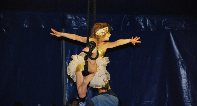 Musique et art du cirque se répondent à Auvernier