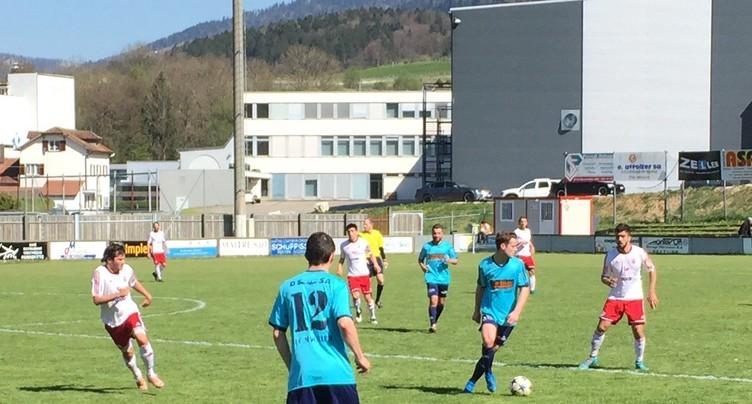 Un succès probant pour le FC Moutier