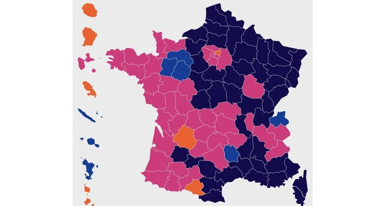 La France voisine vote Le Pen