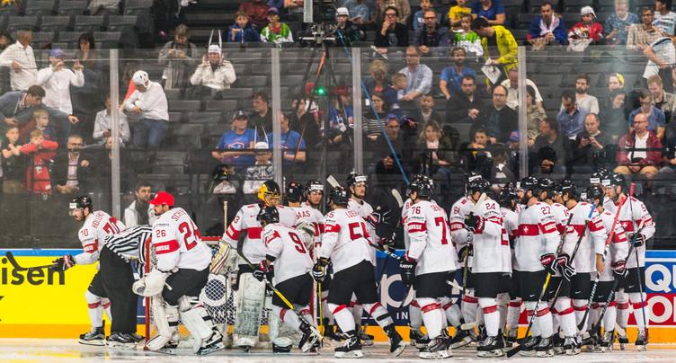 Les mondiaux de hockey sont terminés pour la Suisse