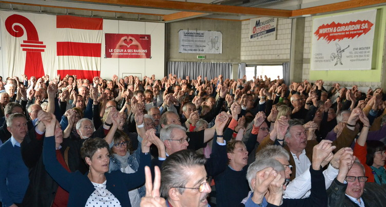 Les autonomistes se mobilisent à Moutier