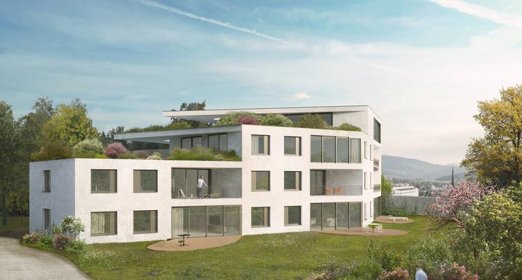 Un projet de villa urbaine à Delémont