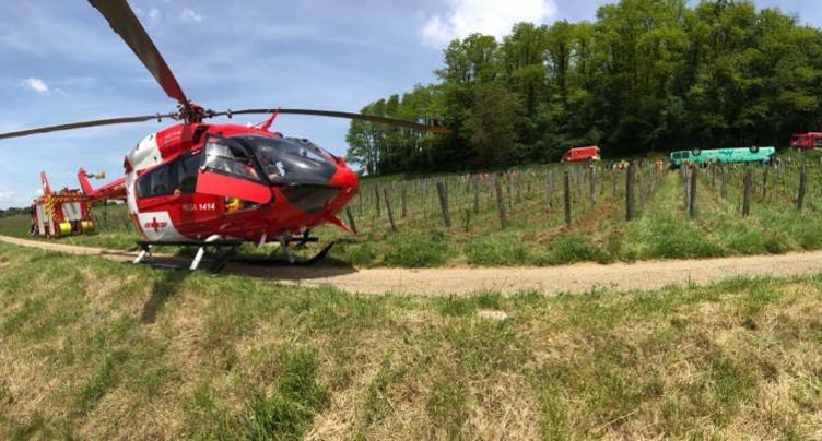 Accident de bus dans le Jura français
