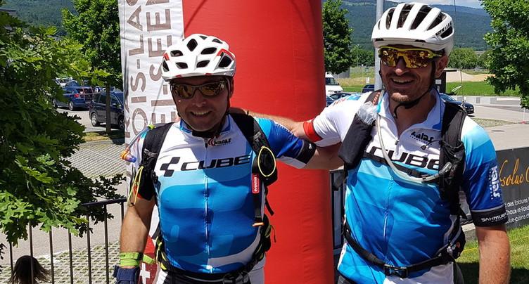 Un duo franco-suisse triomphe au Jura Raid Aventure