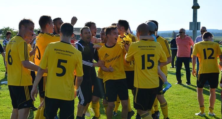 Des débuts réussis pour le FC Cornol – La Baroche