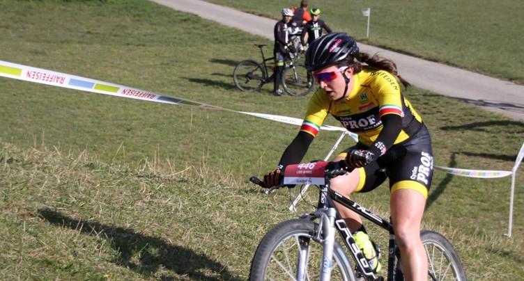 Lise-Marie Henzelin gagne au bord du lac